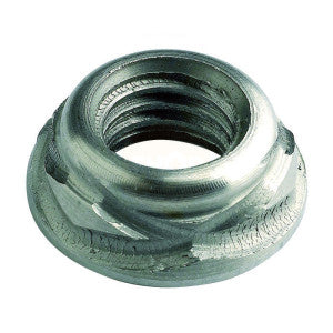 Security Scroll (Wave) Nuts - Stainless Steel A2