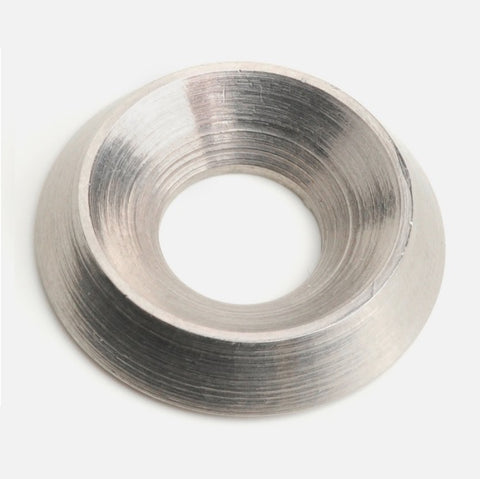 M5 Solid Finishing Cup Washers A2 Stainless Steel, NFE 27-619