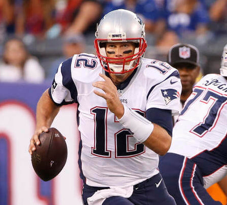 Tom brady beating everybody — even father time