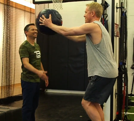 Tom brady's personal trainer took me through the quarterback's intense workout and it changed my life