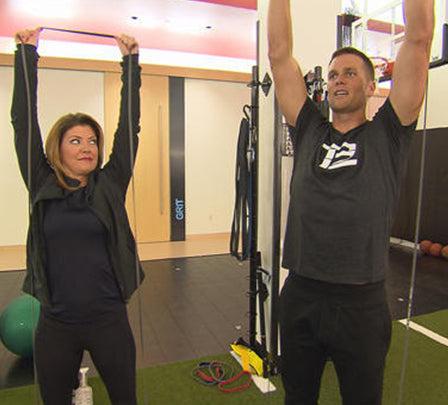 Tom brady promotes muscle pliability for better health