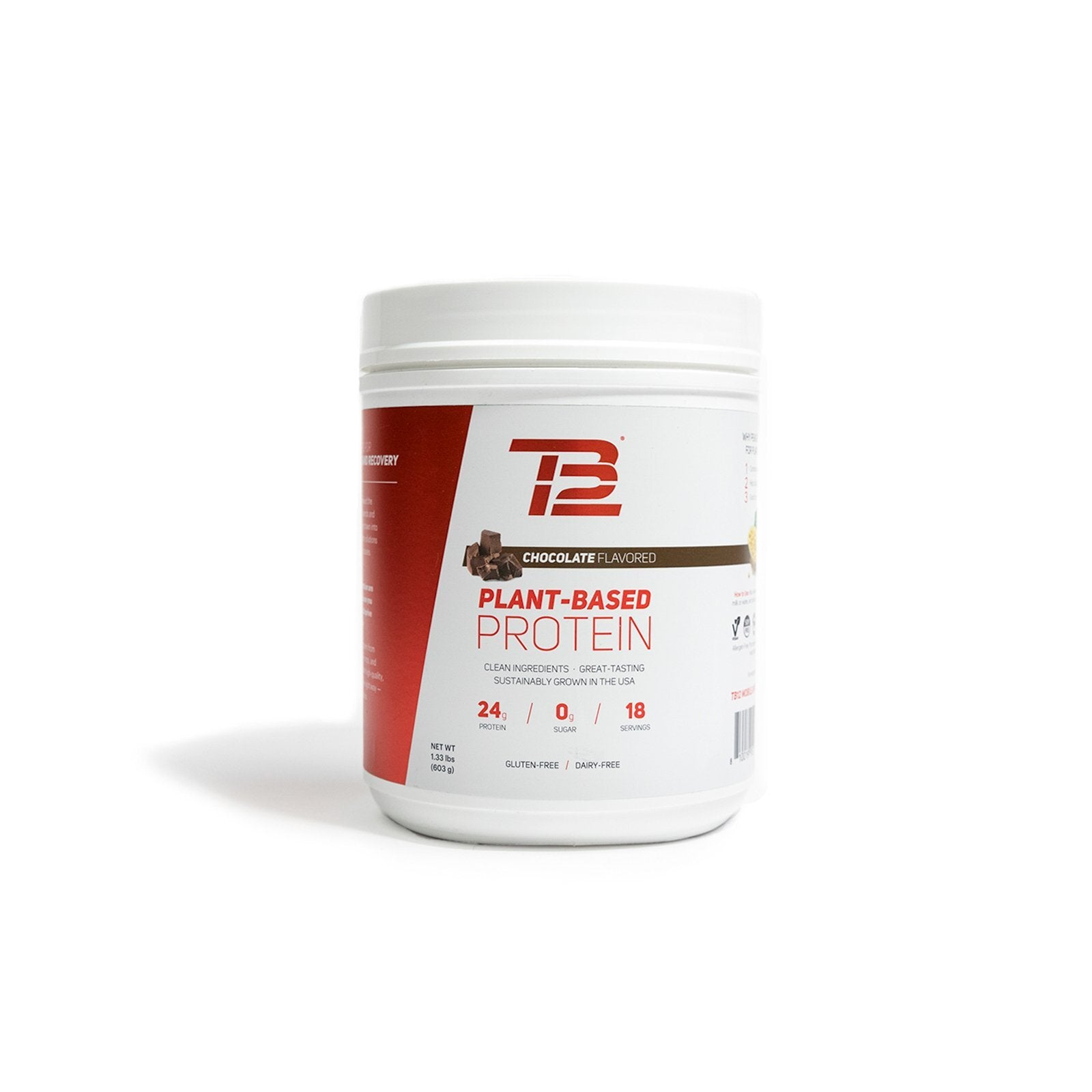 TB12™ Plant-Based Protein (18 servings)