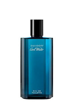 4.2 Ounces Cool Water Eau De Toilette Spray For Men By Davidoff