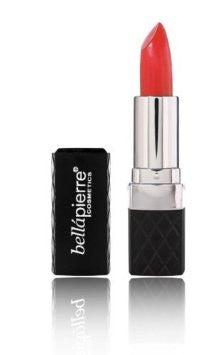 Mandarina  with Mineral Lipstick from Bellapierre Cosmetics