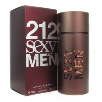 3.4 Oz 212 Sexy Eau De Toilette Spray For Men By Carolina Herrera