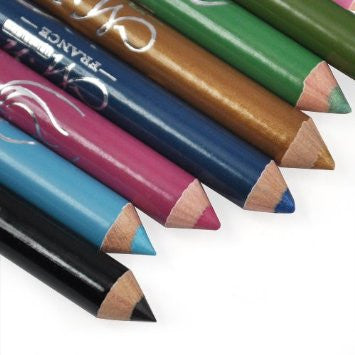12 Assorted Colors Cosmetic Makeup Eyeliner Pencil Eyebrow Eye Liners  from World Pride