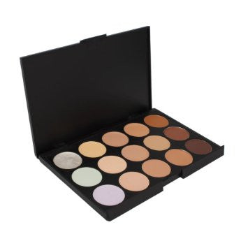 15 Concealer Camouflage Makeup Palette KingMas Professional from Evermarket