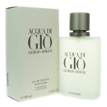 3.4 Ounces Acqua Di Gio For Men By Giorgio Armani