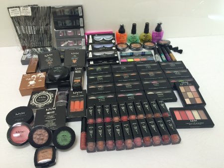 Loreal Maybelline NYX: 10 Piece Lot Brand Name Cosmetics