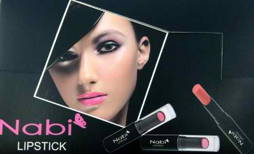 8pc Nabi Cosmetics Professional Selected Lipstick set of 8 Amazing Colors