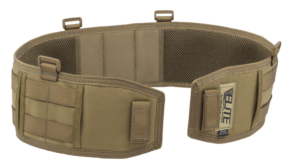 Sidewinder Battle Belt, Coyote Tan, Large