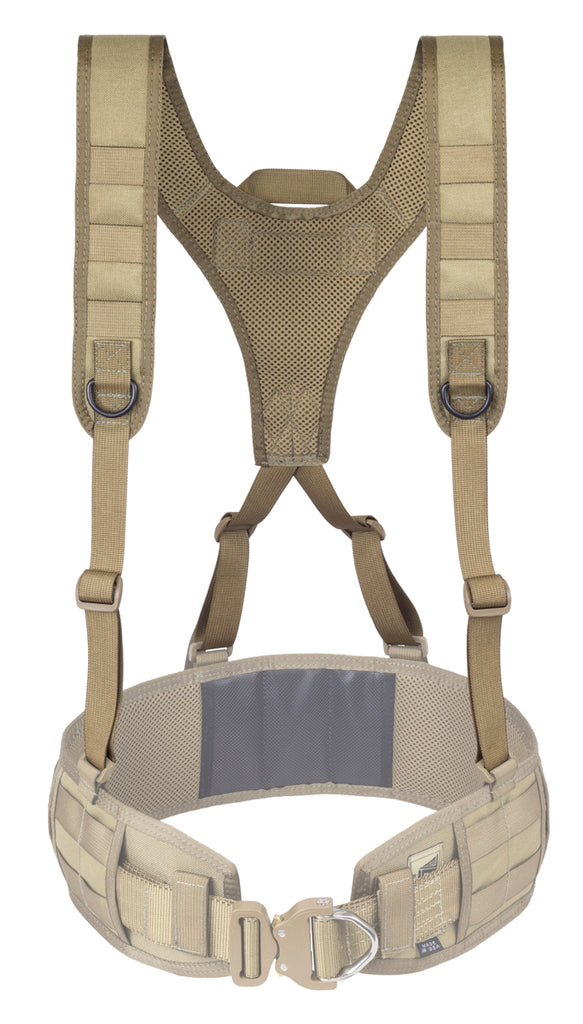 Lightweight Battle Belt Harness, Coyote Tan