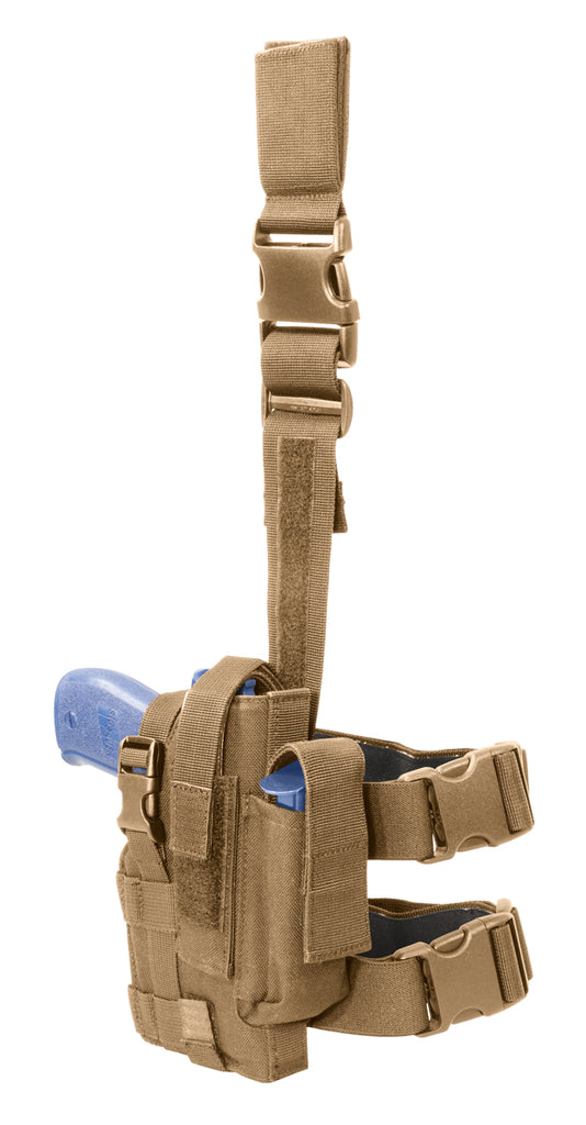 Tactical Holster, Right Hand, Coyote Tan