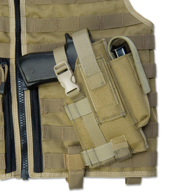 Modular Holster, Left Hand, Coyote Tan