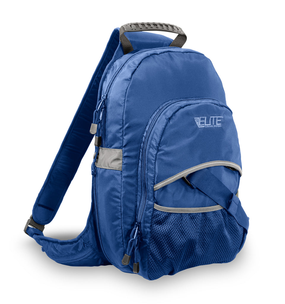 Smokescreen Concealment Backpack, Blue