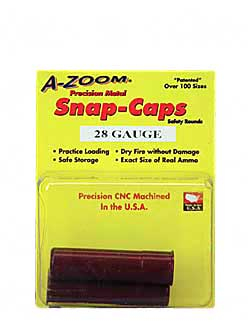 AZOOM SNAP CAPS 28GA 2/PK