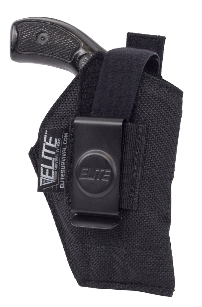 "Inside the Pant Clip Holster, IWB, Fits 2"" S&W J Frame revolvers, Ruger LCR and similar"