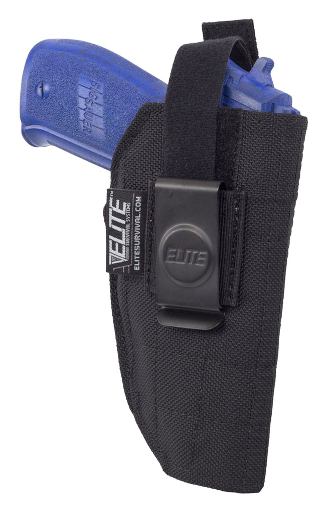 Inside the Pant Clip Holster, IWB, Fits full size Glock, Sig Sauer, Taurus, Beretta, Ruger and similar