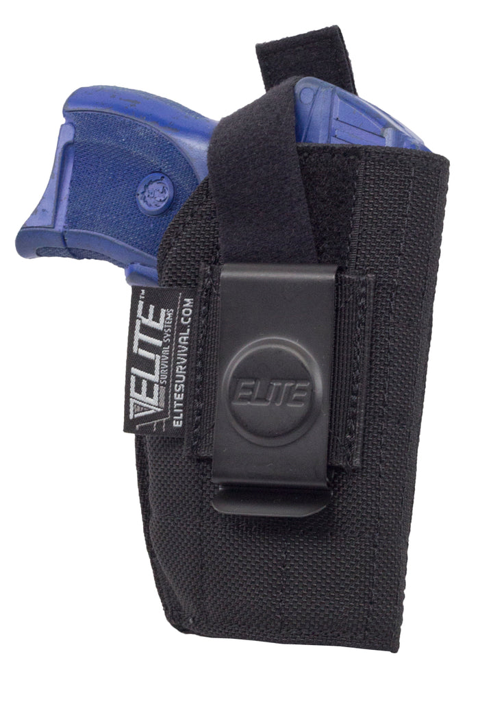 Inside the Pant Clip Holster, IWB, Fits Ruger LC9 w/laser, Kel-Tec PF-9 w/laser and similar