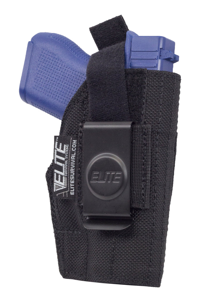 Inside the Pant Clip Holster, IWB, Fits S&W Sigma 380, Kahr Arms P9/P40, MK9/MK40, CW9, PM9/PM40, K9/K40, KeltecPF9 and similar