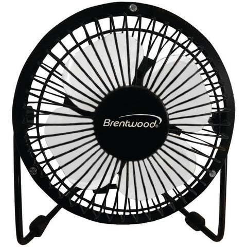 4IN MINI FAN BLK