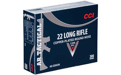 CCI 22LR TACTICAL 40GR CPRN 300/3000