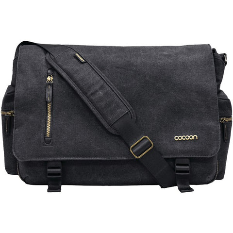 16IN MESSENGER BAG BLK