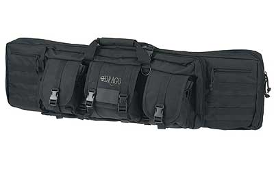 "DRAGO GEAR 42"" DOUBLE GUN CASE BLK"