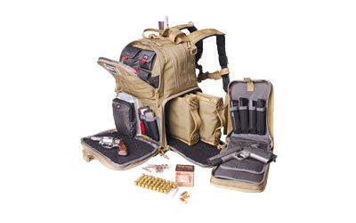 G-OUTDRS GPS TAC RANGE BACKPACK TAN