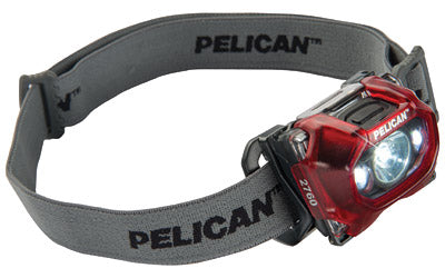 PELICAN 2760C HEAD LIGHT RED LED