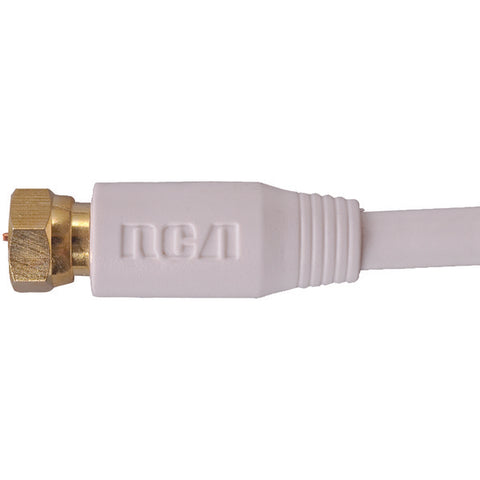 6FT RG6 COAX CBL WHT