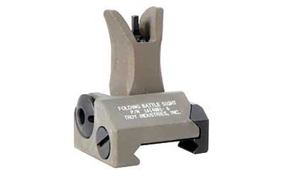 TROY FLDNG M4 FRONT BATTLE SIGHT FDE