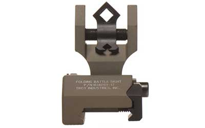 TROY FLDNG REAR DI-OPTIC SGHT FDE