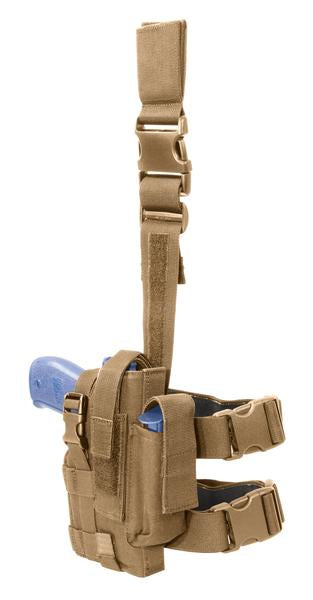 Tactical Holster, Left Hand, Coyote Tan