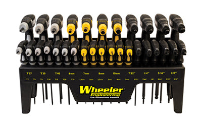 WHEELER P-HANDLE DRIVER SET 30 PC