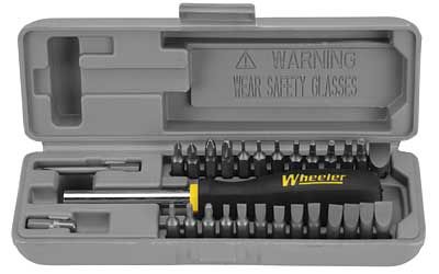 WHEELER GUNSMITHING SCREW DRIVER SET