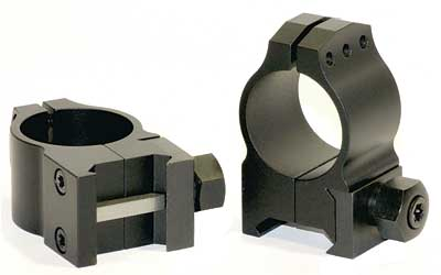 "WARNE TACTICAL 1"" MED MATTE RINGS"