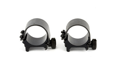 "WEAVER TOP MOUNT RNGS 1"" LOW MATTE"
