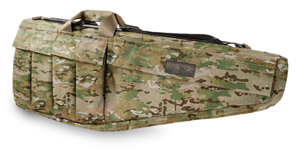 "Assault Systems Rifle Case, 33"", MultiCam, AR15, M16, M4 w/collapsible stock"