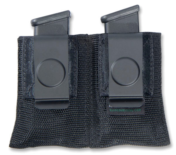 Dual Open Mag Pouch w/Clip