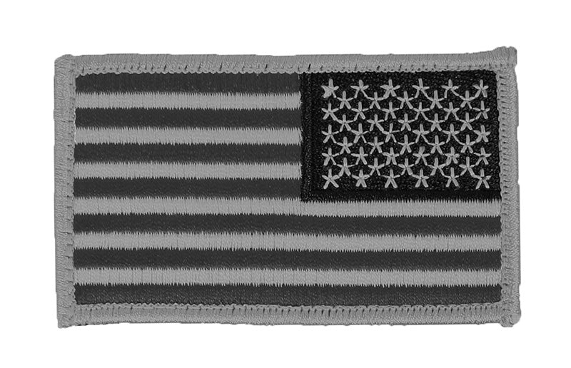 US Flag Patches - Reverse Orientation