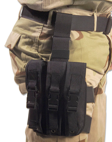 Tactical Thigh Mag Pouch, 9mm