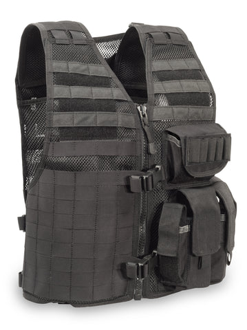 "MVP ""Ammo Adapt"" Tactical Vest, Left side ammo, Black"