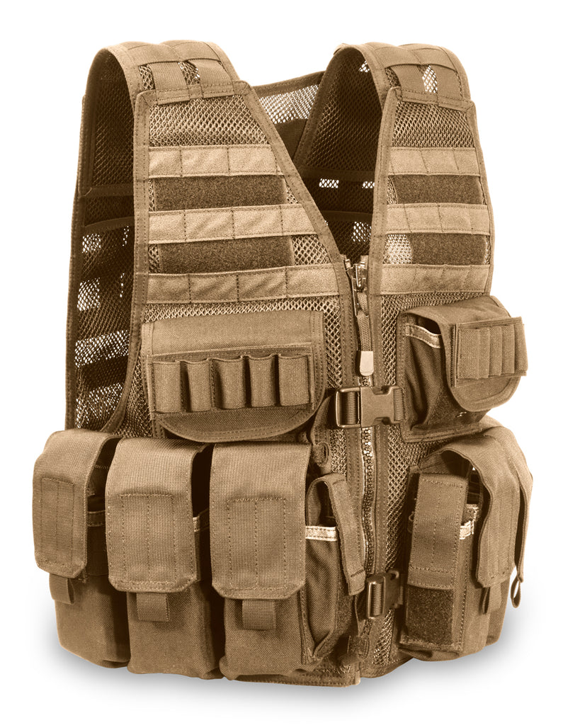 "MVP ""Payload"" Tactical Vest, Coyote Tan"