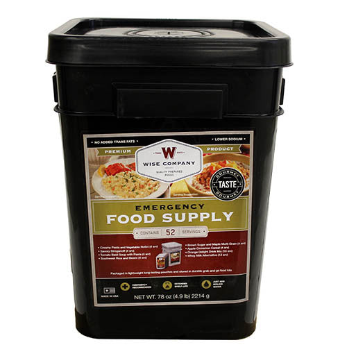 Wise Foods Ultimate Emergency Kit Prepper Pack Meal Kit