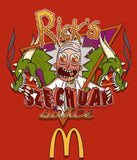 Rick and Morty fast food fan art T-Shirt