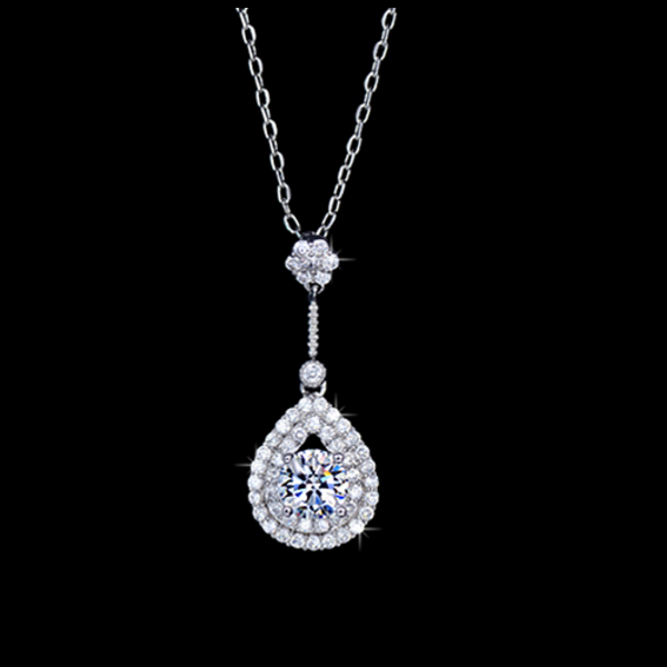 Dazzling Teardrop Necklace