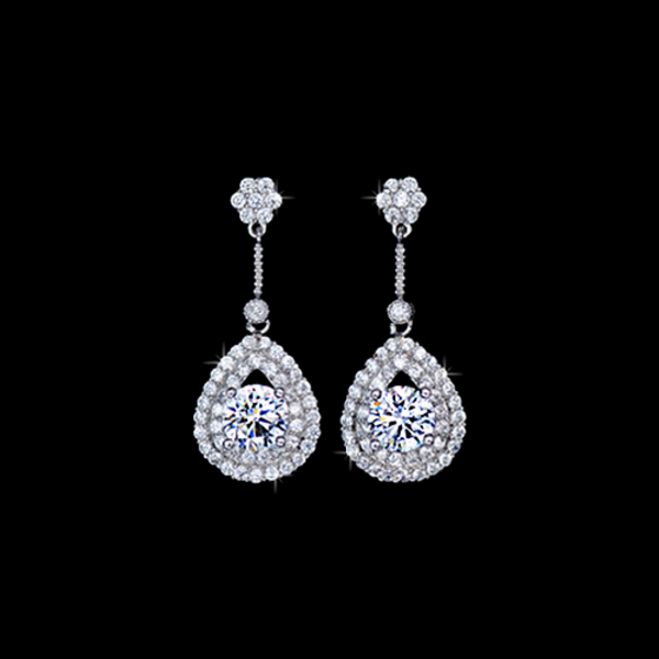 Dazzling Teardrop Earrings