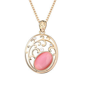 Oval Ornamental Pendant