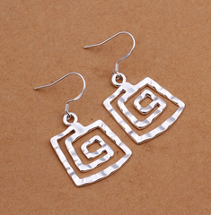 Hammered Metal Earrings